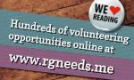 Volunteer in Reading at www.rgneeds.me