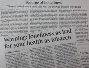 Loneliness News