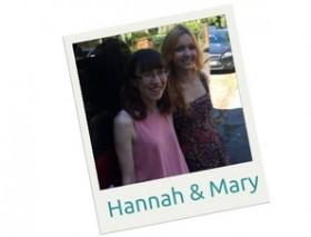 Reading Mencap Volunteers Hannah & Mary