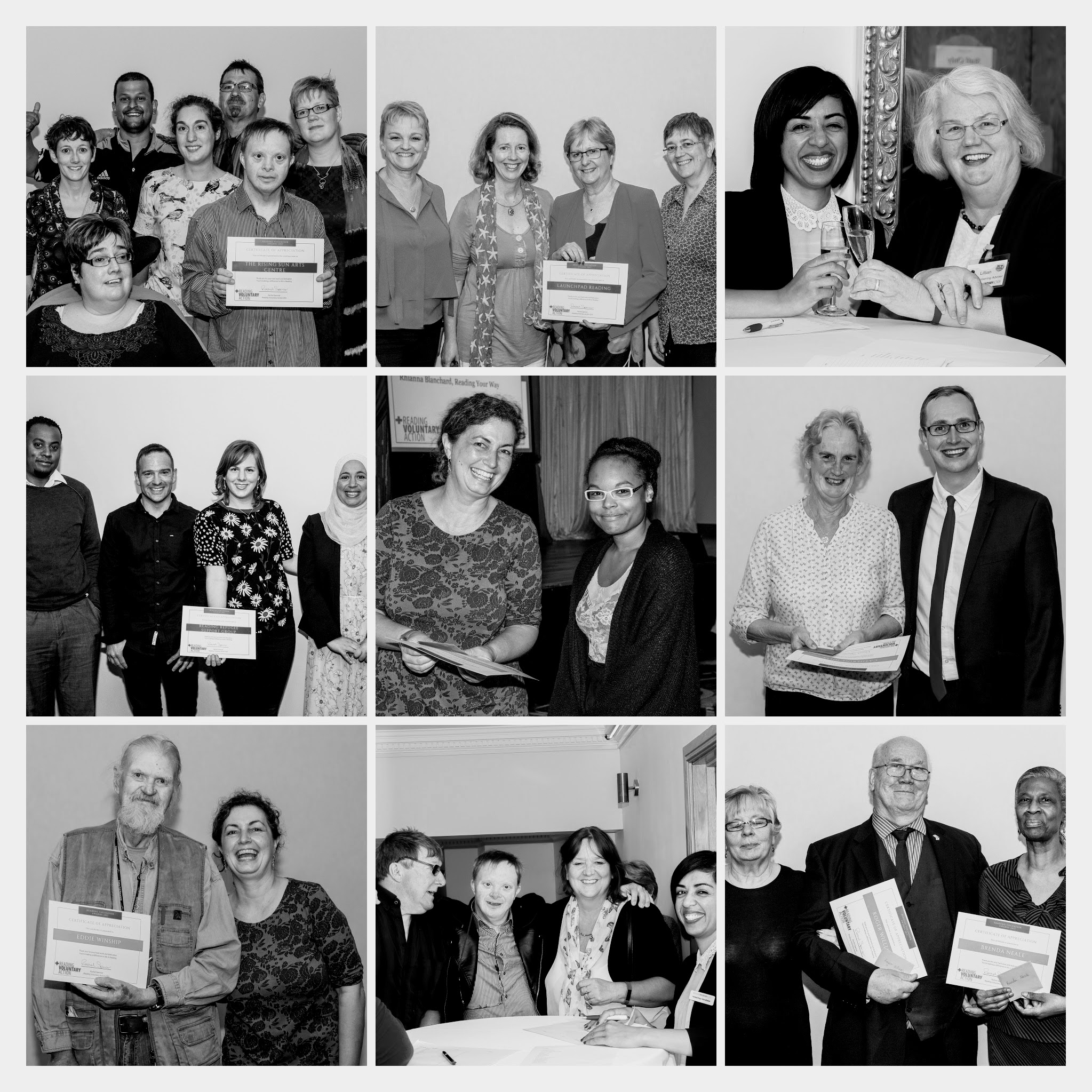 Reading Volunteer Awards 2017