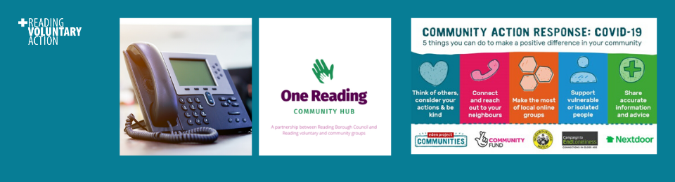 One Reading Community Hub Action Line